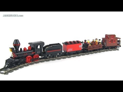 Lego Steam Train Set Lego Moc Steam Train Version