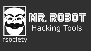 fsociety Mr. Robot Penetration Testing Kali Linux tools in Hindi