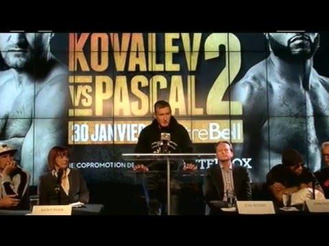 Kovalev vs. Pascal Press Conference LIVE from Montreal