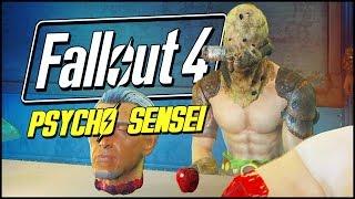 Fallout 4 Funny Moments | PSYCHO SENSEI!