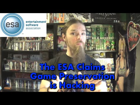 The ESA Claims Game Preservation Is Hacking (We Need To Speak Out)