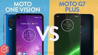 Moto One Vision vs. Moto G7 Plus - qual melhor?   Comparativo