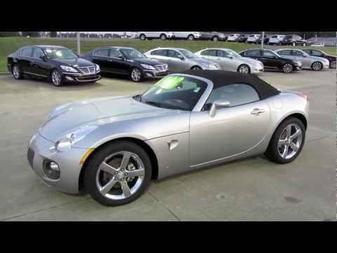 2007 Pontiac Solstice GXP Start Up. Exhaust. and In Depth Tour