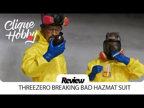 Review: BREAKING BAD 1/6 HEISENBERG & JESSE HAZMAT SUIT Threezero Action Figure Walter White
