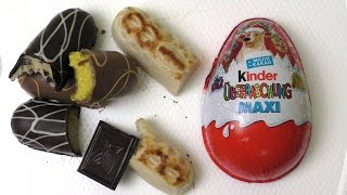 Marzipan Bread | Fair Trade Dark Chocolate | Kinder Maxi Suprise Eggs