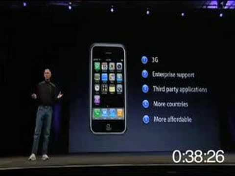Steve Jobs WWDC Keynote (in 60 Seconds) Music Videos