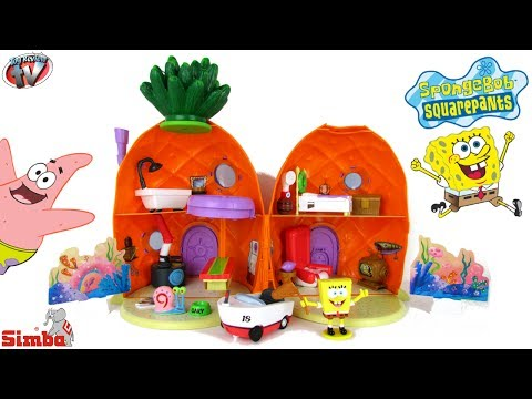 Spongebob Squarepants Pineapple House Playset Toy Review, Simba Toys video