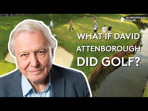 What if David Attenborough did golf?