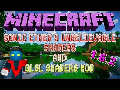 Como Instalar Mods no Minecraft 1.6.2 #18 - Mod das Sombras//Sonic Ether's Unbelievable Shaders