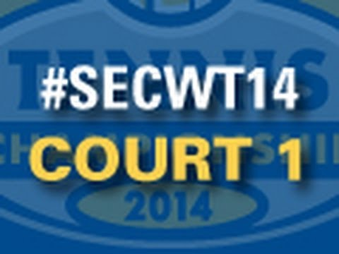 #SECWT14: Thursday - Court 1
