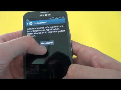 How to: Samsung Galaxy Note 2   Hard Reset & Screenshot erstellen & Hard Reboot I by shockingreviews