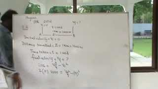 PHYSICS NUMERICALS  CH=2  GRADE 9   2.2   (2012)