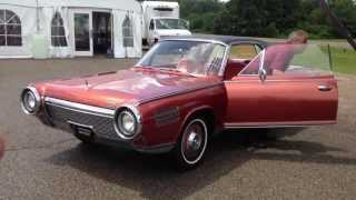 1963-'64 Chrysler Turbine Car Moving
