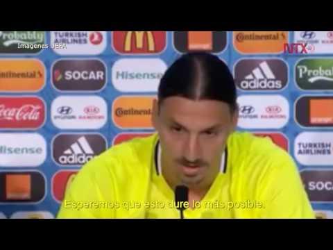 Zlatan Ibrahimovic anuncia retiro de Selección de Suecia