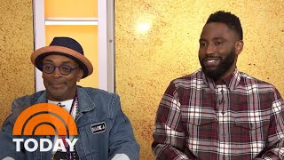 Spike Lee And John David Washington Talk About Filming 'BlacKkKlansman'   TODAY
