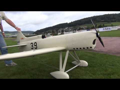 Hard Landing Crash At Kulmer Air Show 2014 Huge Rc White Airplane More At 2.20 Wingspan
