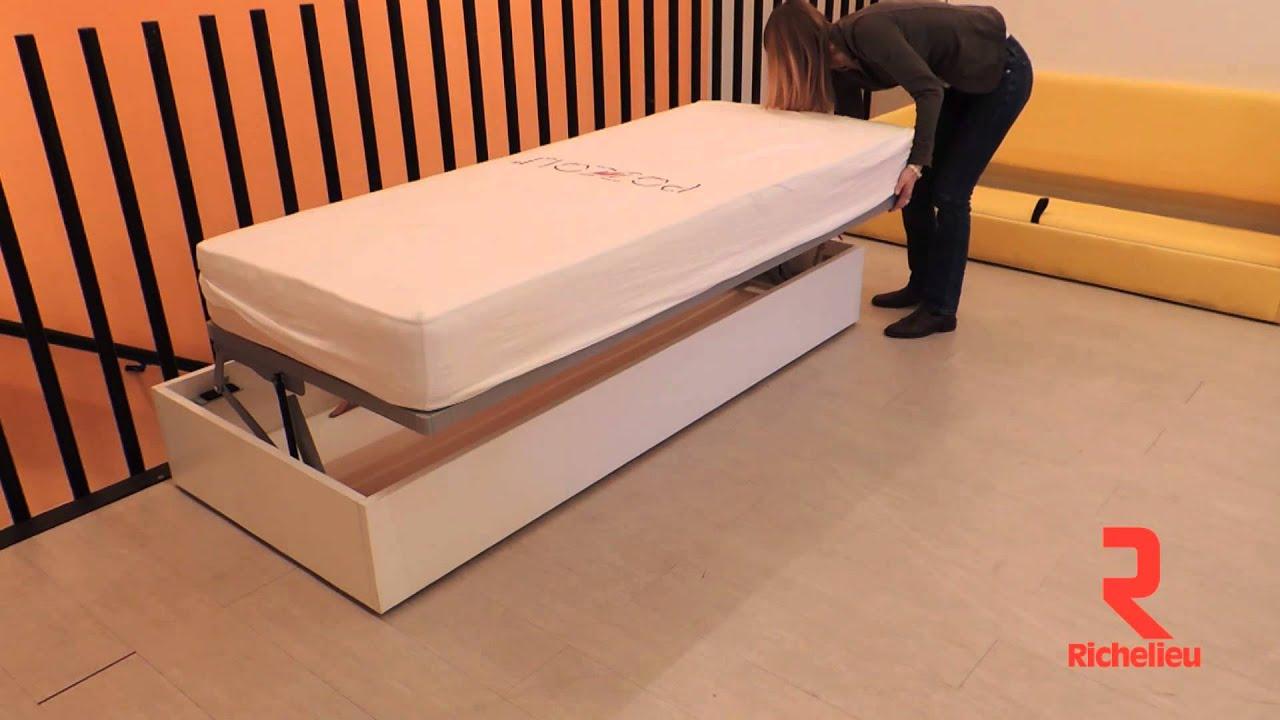 quincaillerie richelieu ensemble pour lit escamotable horizontal tiepolo youtube. Black Bedroom Furniture Sets. Home Design Ideas