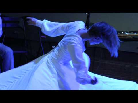 Arman Sigarchi, Sufi dance-Madrid, Dec 2010- رقص سماع