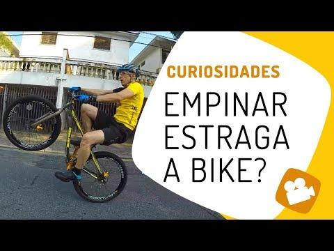 Empinar estraga a bike? Pedaleria