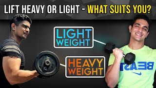 Lift Heavy or Light - What suits YOU? BeerBiceps Muscle Building Advice