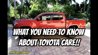 Beware of Toyota Care!!