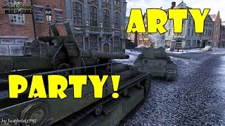 World of Tanks - Funny Moments | ARTY PARTY! #29