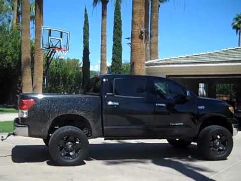 Toyota Tundra Lifted Straight Pipes Youtube