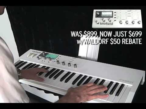 Waldorf Blofeld Keyboard Preview