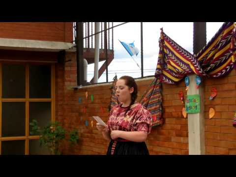 Augsburg College Students dancing in Guatemala