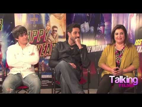 FULL Interview - Farah Khan Abhishek Bachchan Vivaan Shah on Happy New Year  SECTION: Interviews