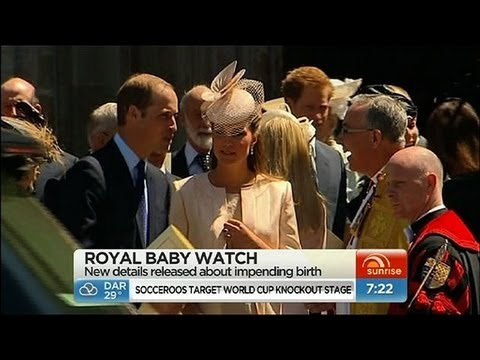 Sunrise - Kate to have natural birth