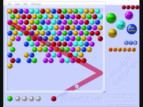 GuideWire with Bubble Shooter