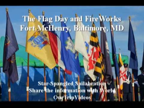 The Flag Day and FireWorks 2012 at Fort McHenry, Baltimore, MD, US - Part 1
