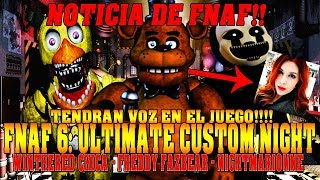 Noticia De Fnaf 6: Ultimate Custom Night | Freddy Fazbear