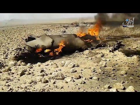 DAEŞ Suriye uçağını düşürüp, pilotu esir aldığını iddia etti