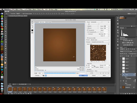 Creating an Animated GIF in Photoshop CC