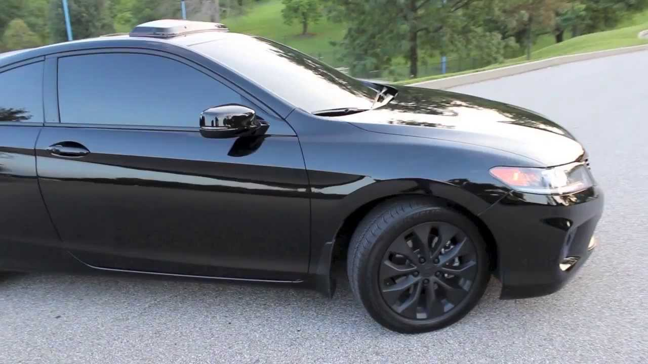 2013 Honda Accord Coupe Walk Around - YouTube
