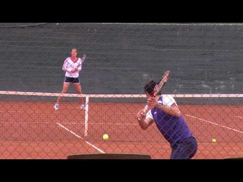 ana ivanovic tennis training at guillermo vilas tennis academy mallorca