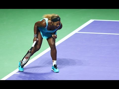 Serena Williams vs Ana Ivnaovic | 2014 WTA Finals Highlights
