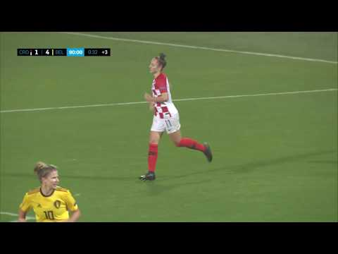 HRVATSKA vs BELGIJA 1:4 (kvalifikacije za Europsko prvenstvo za žene 2021.)