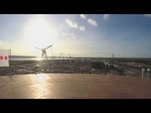 Ichthys LNG Project | Air Raise Timelapse