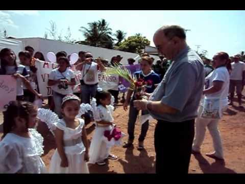 Visita de Dom Javier a Padre Vieira