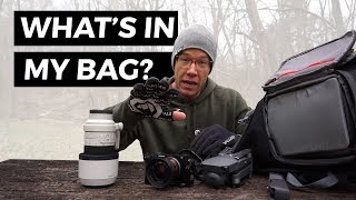 What's In My Camera Backpack For Landscape Photography 2019?
