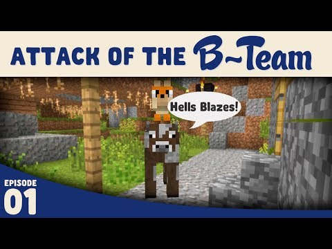 Minecraft :: The Morphing Carpenter :: Attack of the B-Team E1