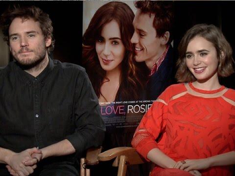 Sam Claflin and Lily Collins Talk 'Love, Rosie'