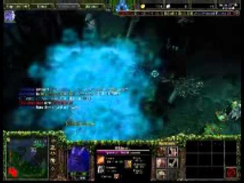 №3 Warcraft III Прокачка героев Rik imaru(рики)