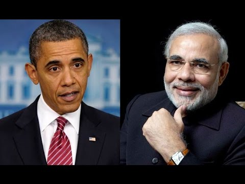 Narendra Modi and Barack Obama : 2 men 1 story
