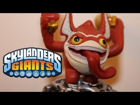 SKYLANDERS GIANTS - TRIGGER HAPPY SKYLANDER REVIEW