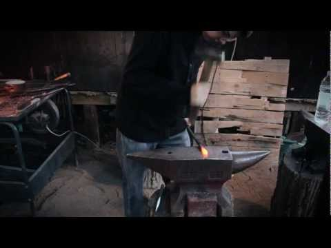 Forging a rustic beer bottle opener