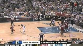 MIAMI HEAT vs MAVERICKS NBA FINALS G6 - 2006